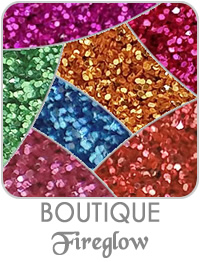 Boutique Fireglow Metallic Glitters