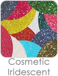 Cosmetic Iridescent Glitters