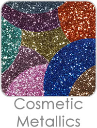 Cosmetic Metallic Glitters