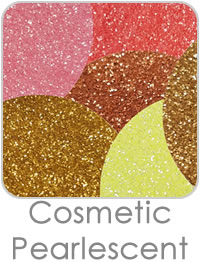 Cosmetic Pearlescent Glitters