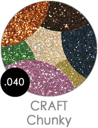 Craft Chunky Flake Glitters