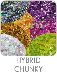 Hybrid Chunky Flake Glitter