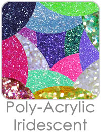 Polyester Iridescent Glitters