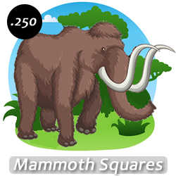 Mammoth Square Craft Glitter