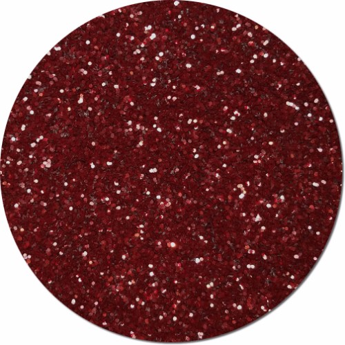 Maroon Burst Craft Glitter (chunky flake)- By The Pound