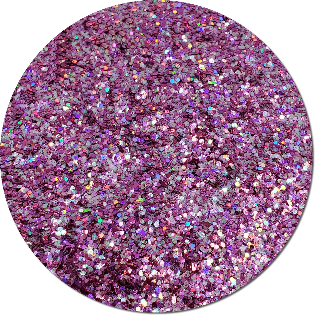 Material Girl: Twisted Glitter Cosmetic Mix