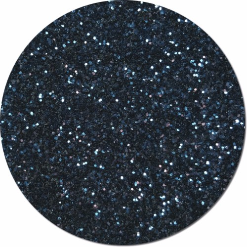 Midnight Navy Blue Craft Glitter (chunky flake)- 4 oz. Jar