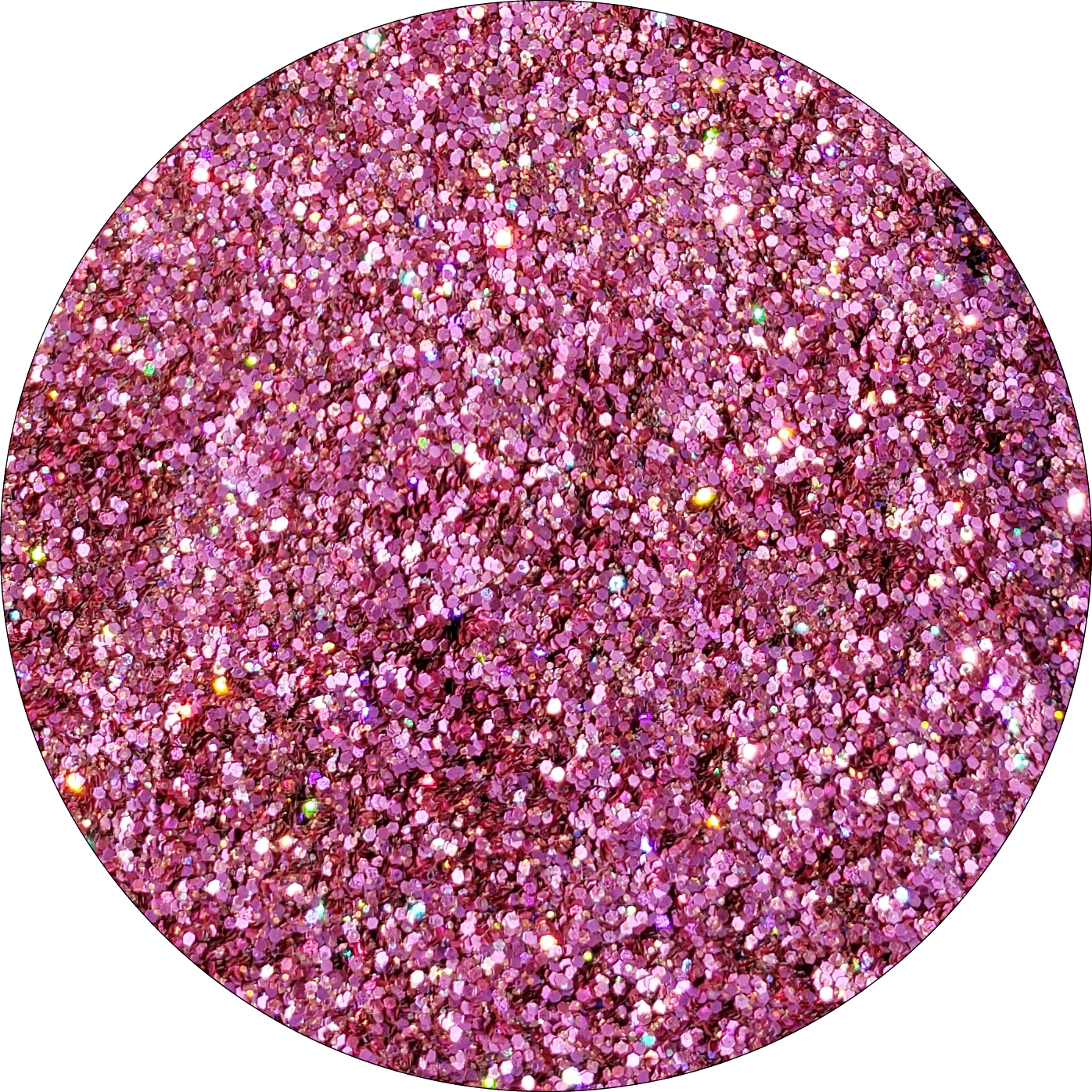 Wild Rose : Twisted Glitter Cosmetic Mix