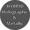 MSDS Hybrid Metallic Coated Glitters