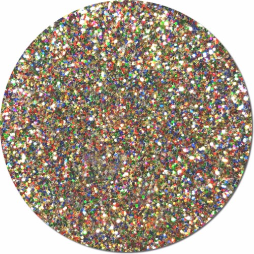 Multi Rainbow Craft Glitter Mix (chunky)