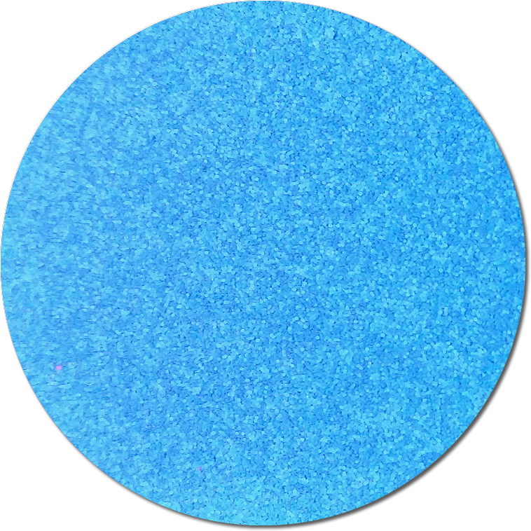 Nova Light Blue :Polyester Glitter Fluorescent (boxed)