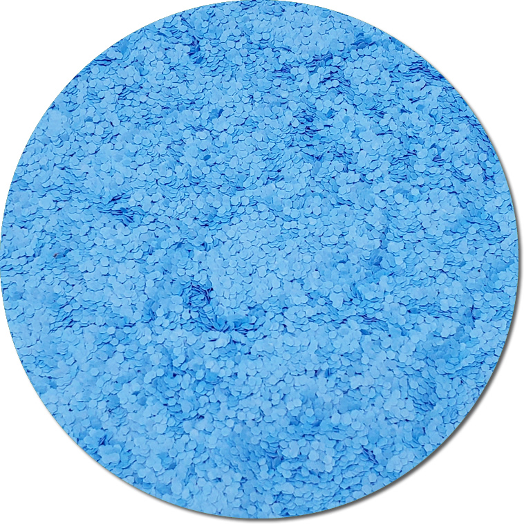 Nova Light Blue :Chunky Glitter Fluorescent (bulk)