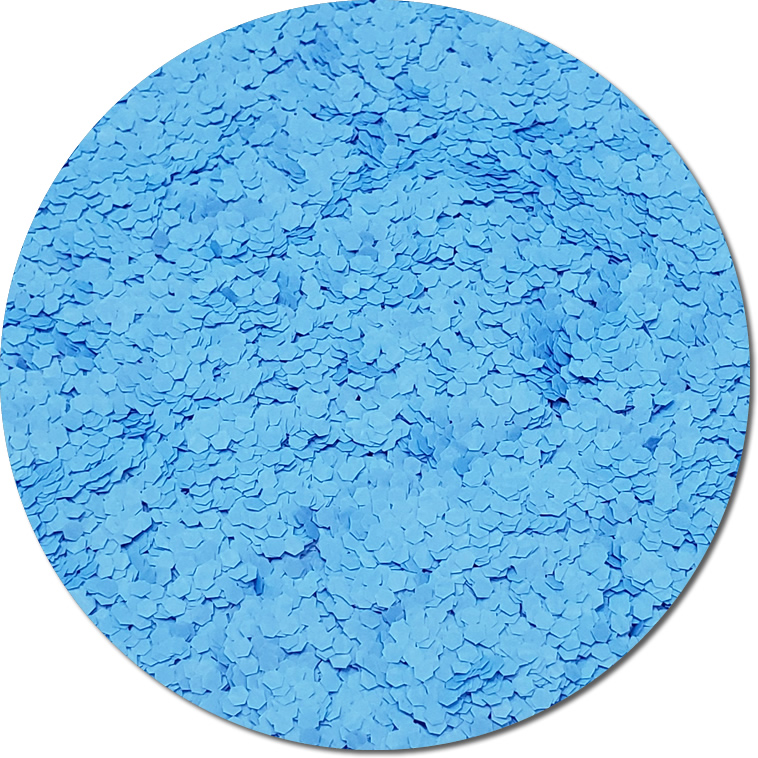 Nova Light Blue :Fat Glitter Fluorescent (bulk)
