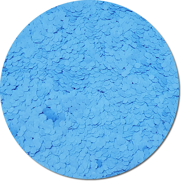 Nova Light Blue :Jumbo Glitter Fluorescent (Mini)