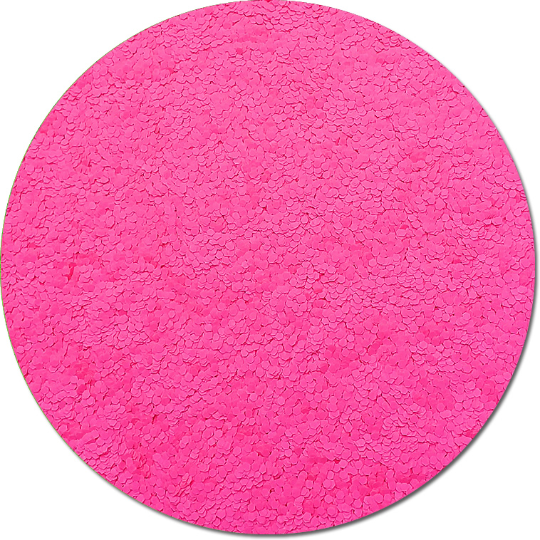 Nova Light Pink :Chunky Glitter Fluorescent (Mini)