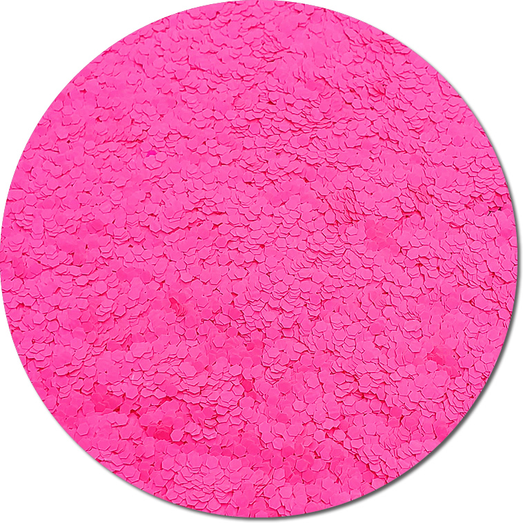 Nova Light Pink :Fat Glitter Fluorescent (Mini)