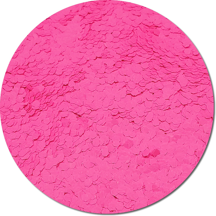 Nova Light Pink :Jumbo Glitter Fluorescent (Mini)