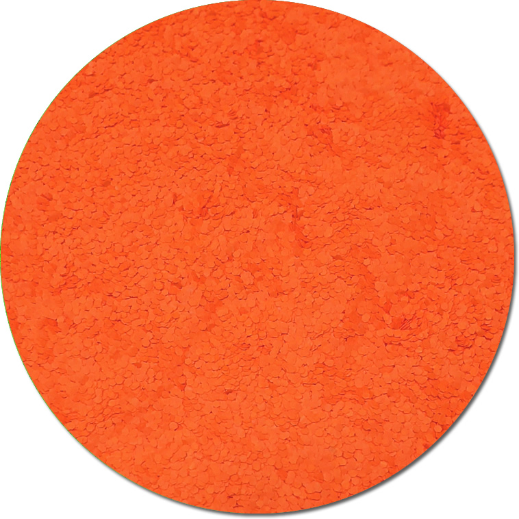 Nova Orange :Chunky Glitter Fluorescent (bulk)