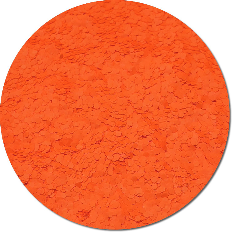 Nova Orange :Fat Glitter Fluorescent (Mini)