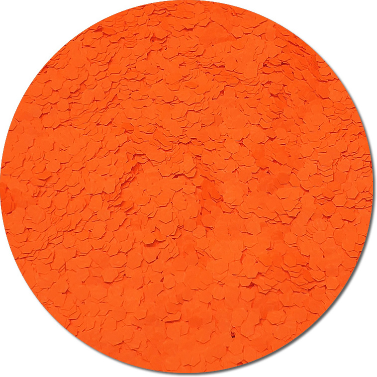 Nova Orange :Jumbo Glitter Fluorescent (jar)
