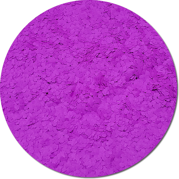 Nova Violet :Fat Glitter Fluorescent (Mini)