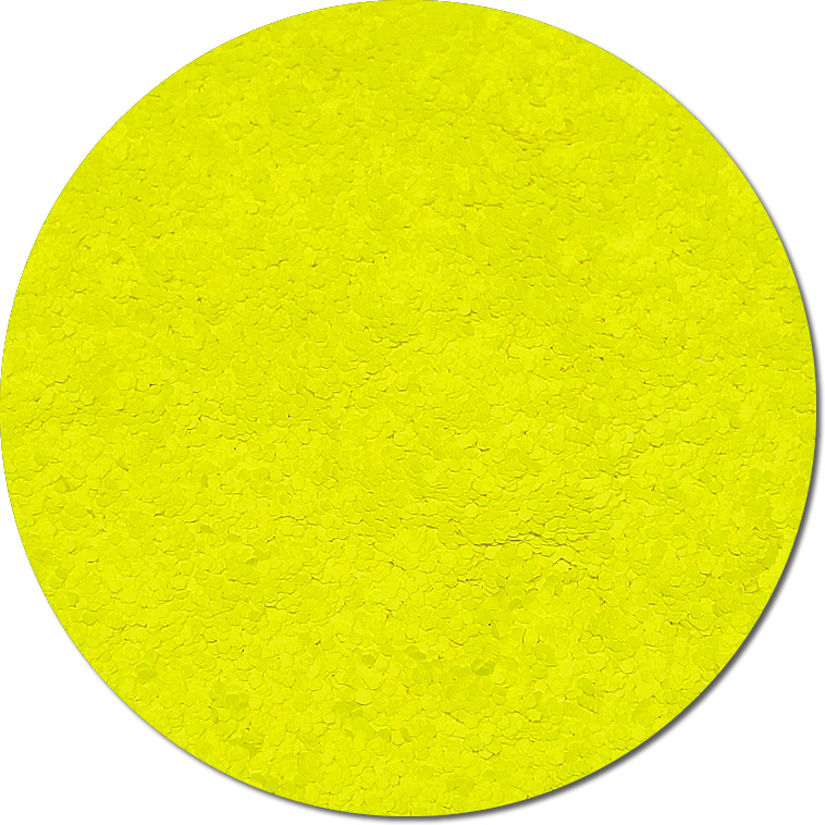 Nova Yellow :Chunky Glitter Fluorescent (Mini)