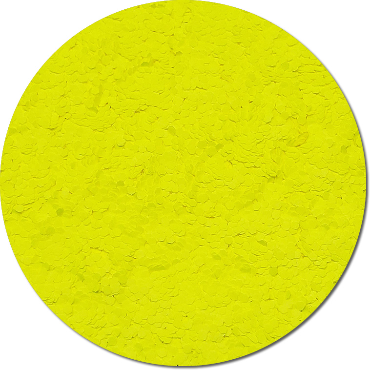 Nova Yellow :Fat Glitter Fluorescent (Mini)
