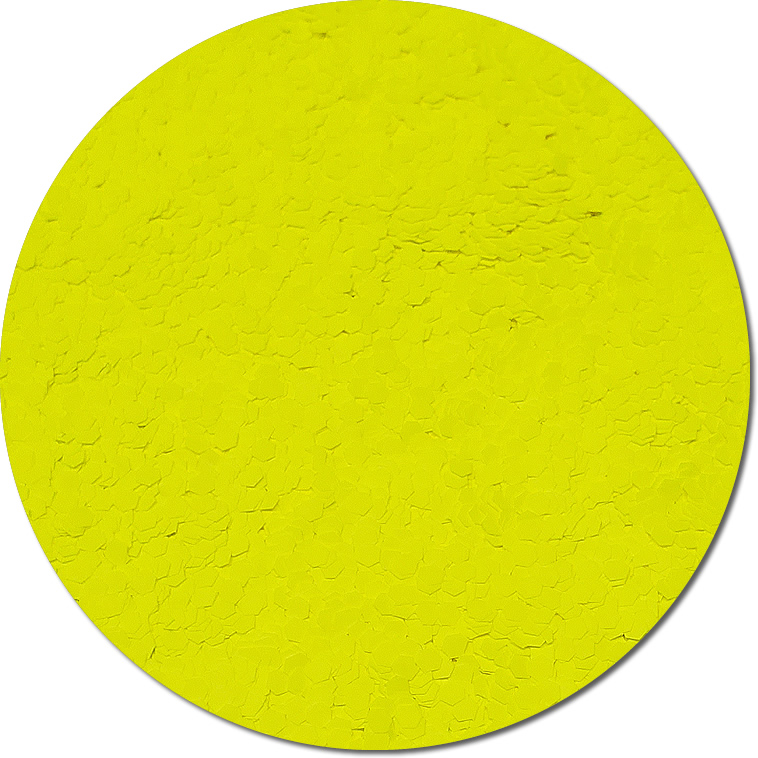 Nova Yellow :Jumbo Glitter Fluorescent (Mini)