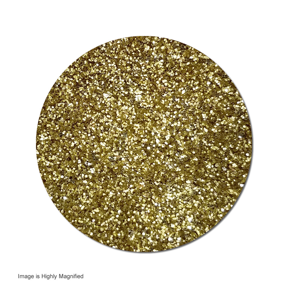 Origin Gold :Ultra Fine Glitter Metallic (jar)