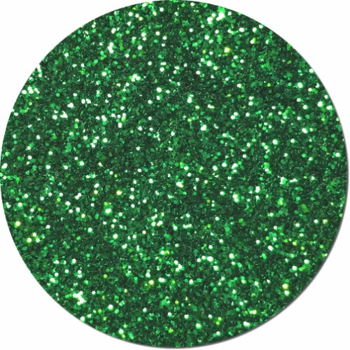 Ozs Emerald City Craft Glitter (chunky flake)- 8 oz. Jar