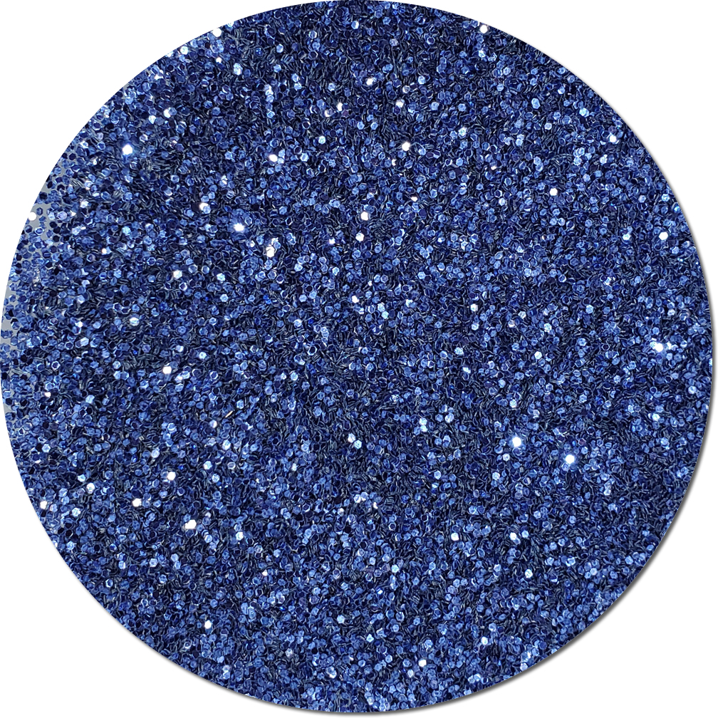 Persian Sapphire Blue Craft Glitter (chunky flake)- 3/4 oz Jar