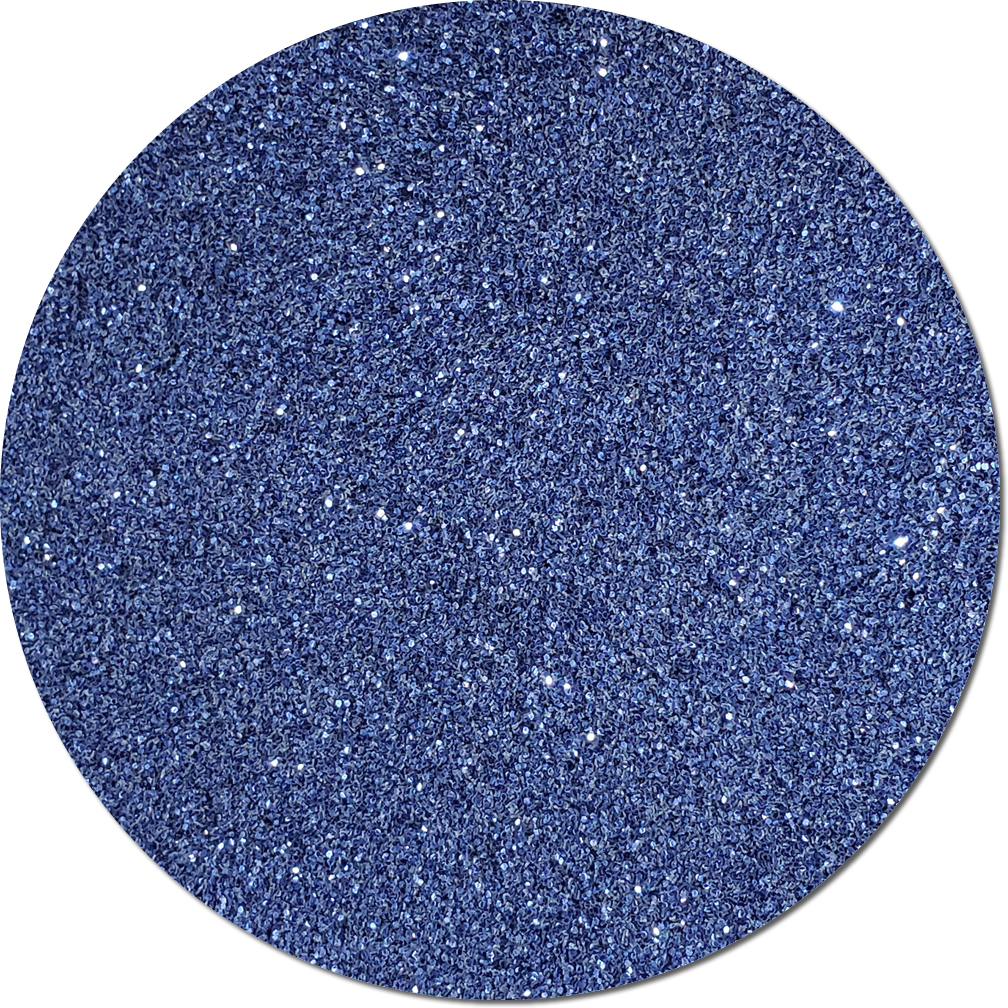 Persian Sapphire Blue Craft Glitter (fine flake)- 3/4 oz Jar