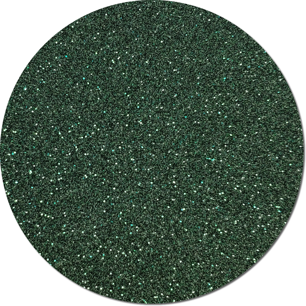 Pine Needle Green Craft Glitter (fine flake)- 3/4 oz Jar