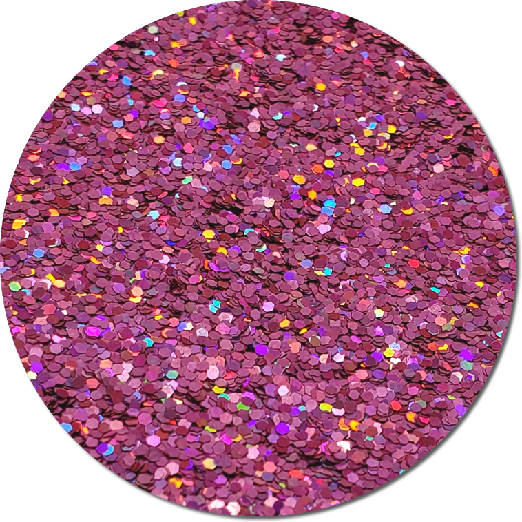 Pink-Tastic! : Chunky Glitter Cosmetic Holographic (jar)