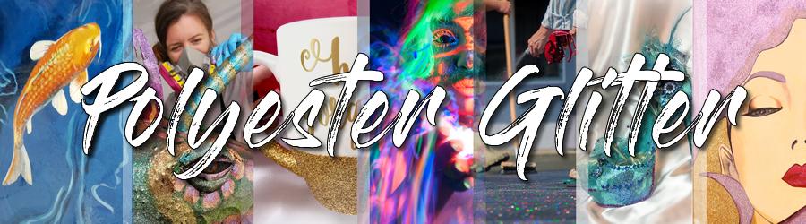Glitter My World Brand Bulk Glitters - Polyester Glitter