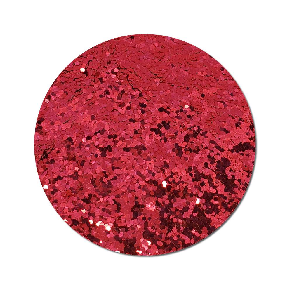 Runway Red :Chunky Glitter Cosmetic Metallic (bulk)
