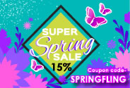 SpringFling Coupon