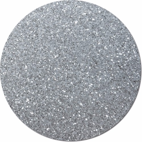 Sterling Silver Craft Glitter (fine flake)- 8 oz. Jar