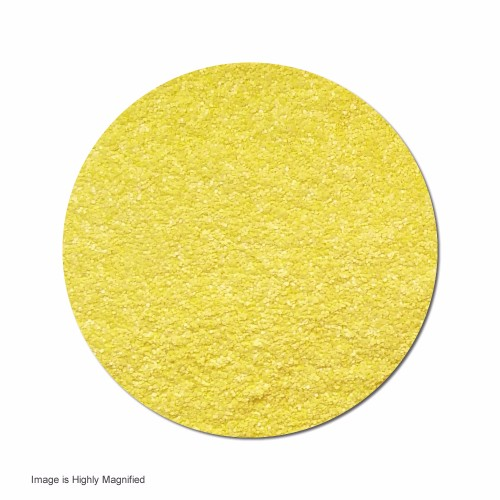 Sunshine Yellow :Ultra Fine Glitter Cosmetic Prism (bulk)