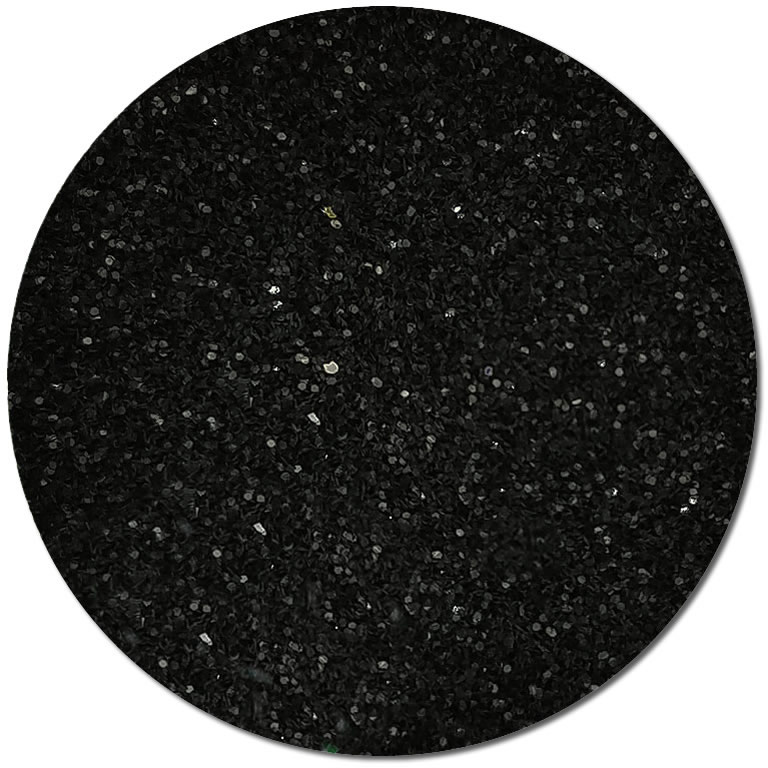 Darker Than Black :Ultra Fine Biodegradable Pearlized Glitter (jar)