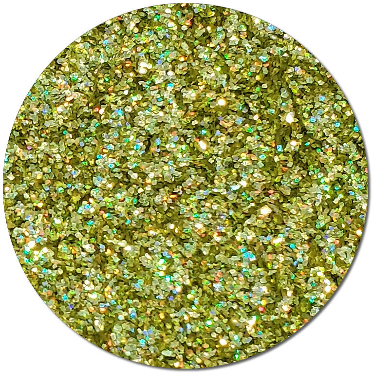 Prophecy Gold :Fine Biodegradable Holographic Glitter (jar)