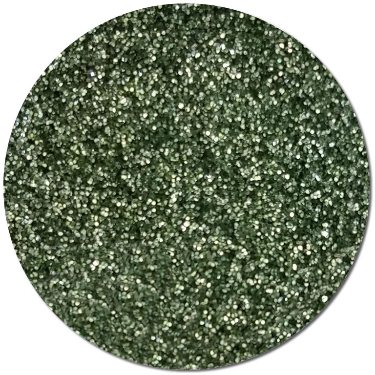 Metallic Gaia Green :Ultra Fine Biodegradable Glitter (jar)