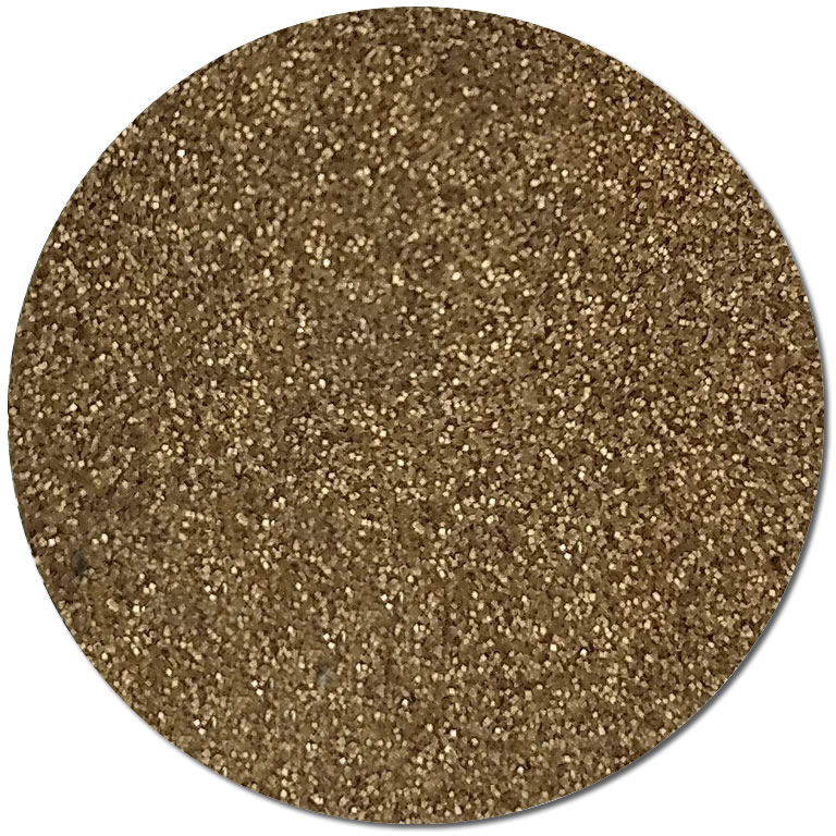 Satin Gold :Ultra Fine Biodegradable Pearlized Glitter (jar)