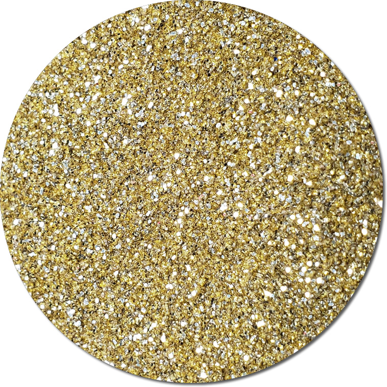 Metallic Golden Sunbear :Ultra Fine Biodegradable Glitter (jar)