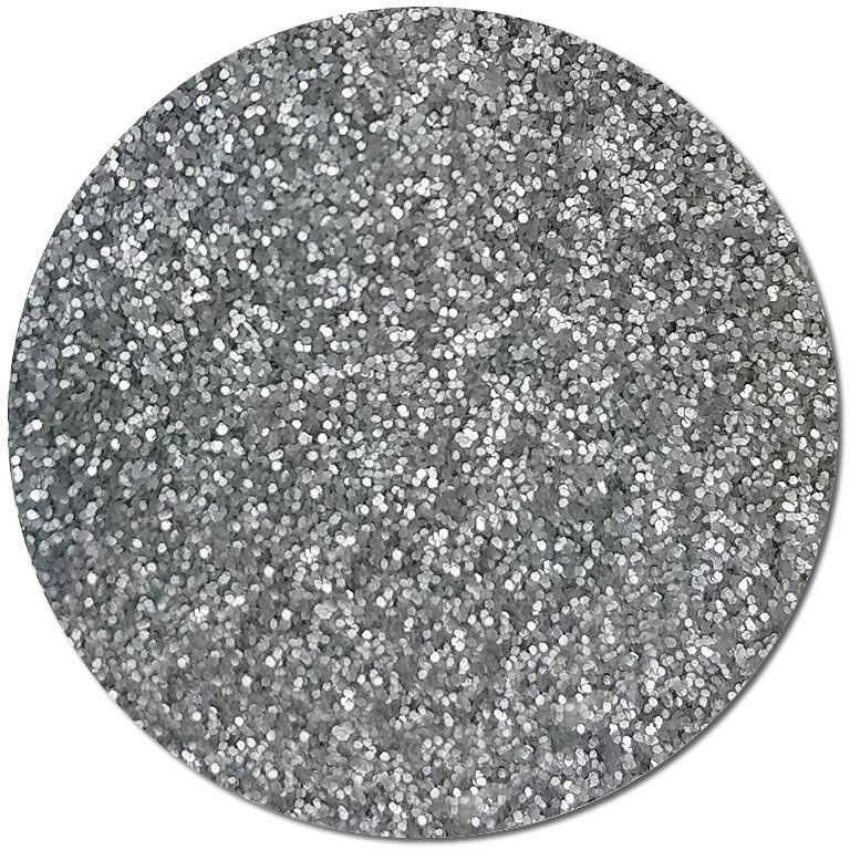 Silver Fox :Ultra Fine Biodegradable Pearlized Glitter (jar)