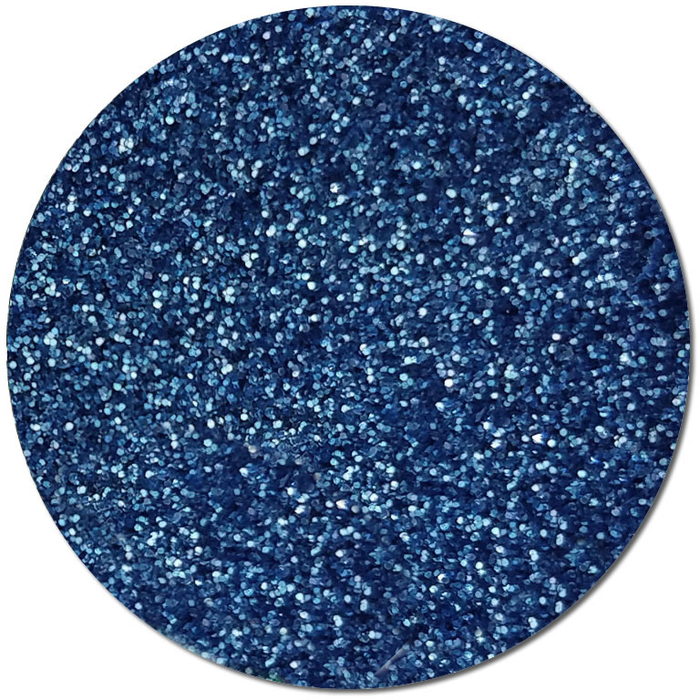 Metallic Skyborn Blue :Ultra Fine Biodegradable Glitter (jar)