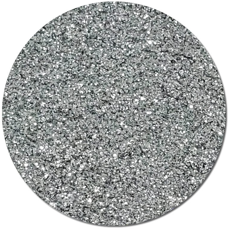 Metallic Starkissed Silver :Ultra Fine Biodegradable Glitter (jar)