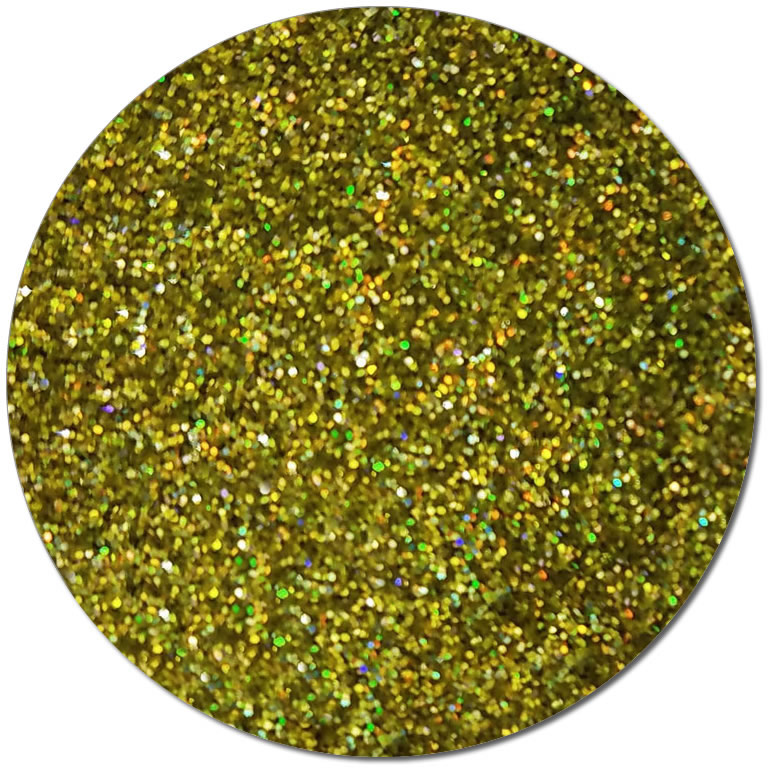 Prophecy Gold :Ultra Fine Biodegradable Holographic Glitter (jar)