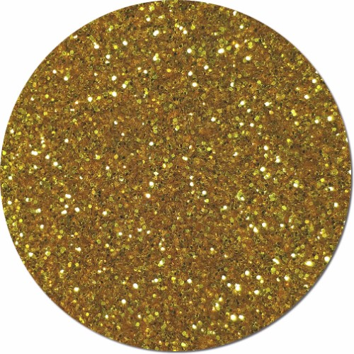 Tarnished Gold Craft Glitter (chunky flake)- 3/4 oz Jar