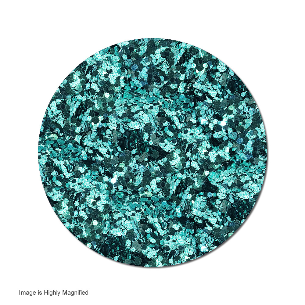 Teal :Chunky Glitter Metallic (jar)